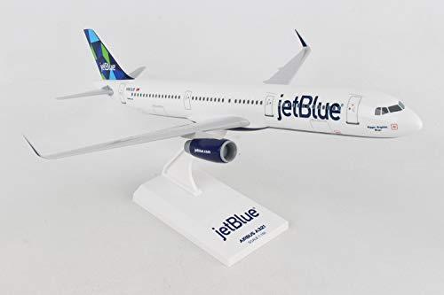 Skymarks SKR778 Jet Blue Airbus A321 Mint Tail 1:150 Snap-Fit Model