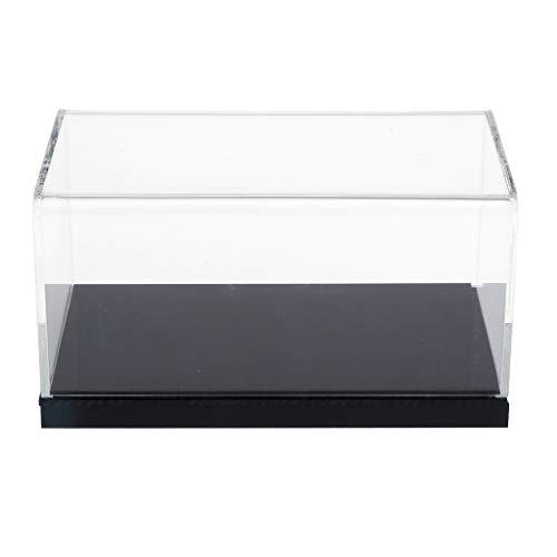 CUTICATE Acryl Vitrine Schaukasten Staubschutz Ausstellung Box für 1/32 Auto oder Sammelfigur