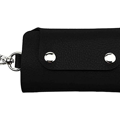 Funda de llave de coche moda mujeres hombres llavero bolsas PVC transparente unisex coche ama de llaves llavero cartera organizador bolsa