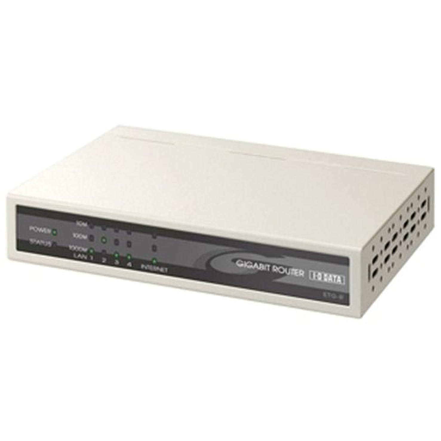 I-O DATA ETG-R 高速?多機能Gigabitブロードバンドルーター