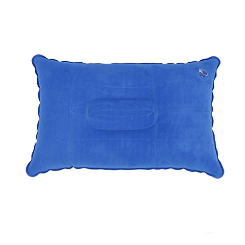 Kingfisher Gonflable Voyage Camping Oreiller Gonflable Appui-tête Coussin-Bleu