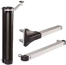 Deursluiter, hydraulisch, compact, voor alle soorten scharnieren, voor deuren tot 75 kg.