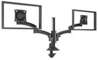 Chief Manufacturing K2 Column Mount Dual Display Dual Stand 2l Arms, Black K2C220B
