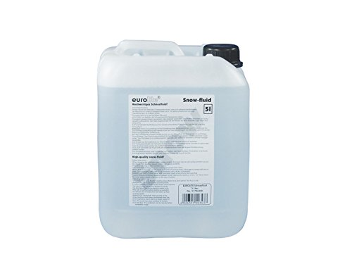 Eurolite S-2 Schneefluid, 5L | Schneefluid für Kunstschnee | Made in Europe | Hochwertige Flüssigkeit für Ihre Schneemaschine