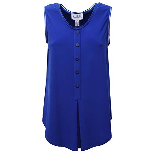 Joseph Ribkoff 4112AC Canotta Donna Blue t-Shirt Sleeveless Women [IT 46]