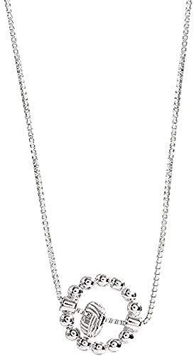 Yiffshunl Collar de Cadena de clavícula Femenina Collar Colgante de Cadena para Mujeres Hombres