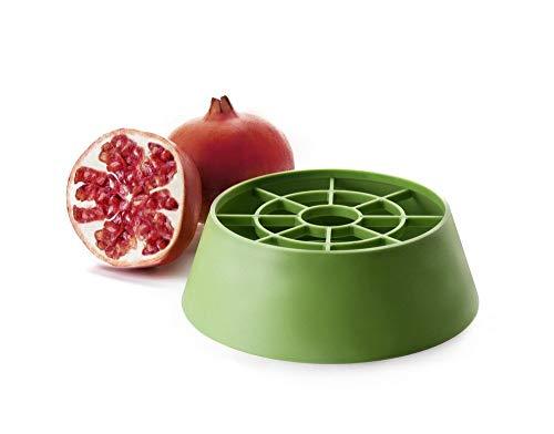IBILI Granatapfel-Entkerner, Kunststoff, grün, 18 x 18 x 6 cm