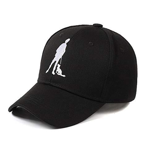 Zomer Baseball Cap Soldaat met Hond Borduurwerk Hoed Cap Hoed voor Mannen Vrouwen Casual Casquette Cap