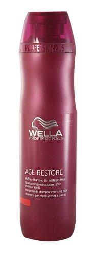 Wella Professionals Age Restore unisex, opbouw-shampoo voor krachtig haar 250 ml, per stuk verpakt (1 x 1 stuks)