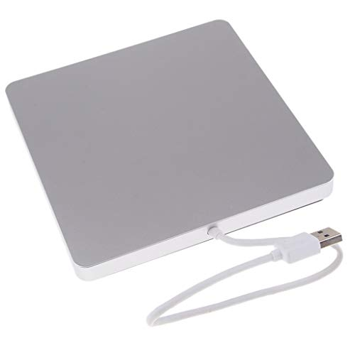 #N/A/a Unidad de BLU-Ray Unidad de CD Externa Grabador de DVD Móvil USB 3.0 Plata