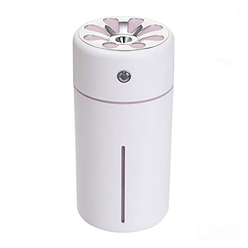 zxcvb Humidifier humidifiers for home Humidifier humidifiers humidifiers for bedroom cool mist humidifier -Rechargeable aromatherapy machine spray mute portable multiple colors (Color : Pink)