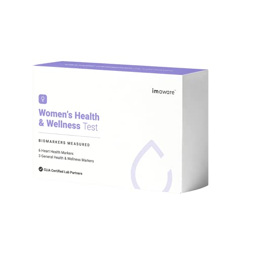 imaware Women's Health and Wellness Test   At-Home Finger...