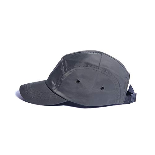 Clape Dad Hat Sun Protection 5 Panel Cap Unstructured Sport Hats,GD51-Gray