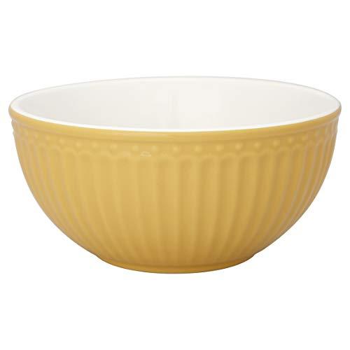 GreenGate - Schale, Dessertschale, Müslischale - Alice - Honey Mustard - 14 x 7 cm - 450ml