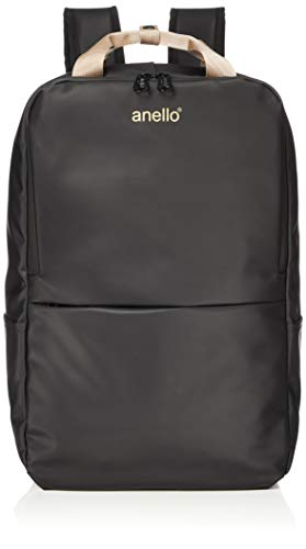 Anello AT-C2545 Multifunctional Square Backpack 12 Pockets (4 Outer, 8 Inner) Polyester Cool DesignWater-Repellent Matte Outer Coating (Gold/Black)