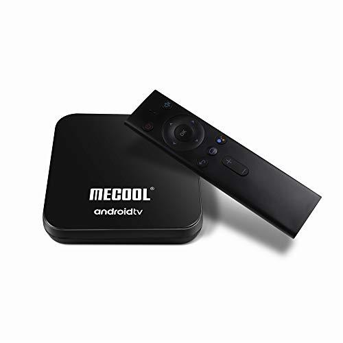 MECOOL KM9PRO Honour - Box Android TV con certificazione Google | Streaming 4K | Bluetooth WiFi | Assistente Google con Chromecast | 4GB RAM 32GB ROM | HDMI HDR