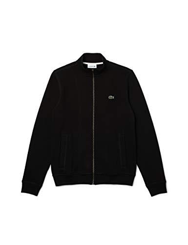 Lacoste Herren SH2178 Sweatshirt, Noir, S