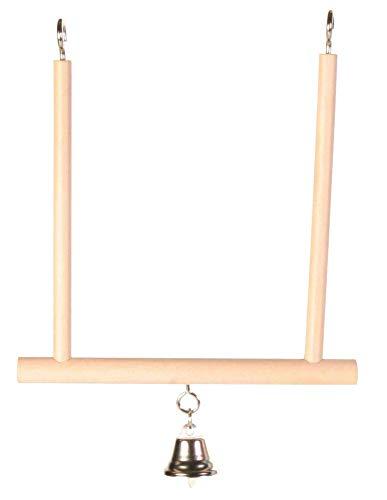 Trixie 5830 Trapezschaukel mit Glocke, 12 × 13 cm