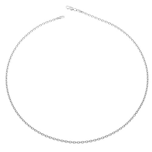Orphelia Jewelry Unisex-Halskette ohne Anhnger 925 Sterling Silber 45cm ZK-2622