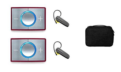 CEECOACH 2 Duo Bordeaux Bluetooth Set inkl. Bluetooth Headset und Tasche