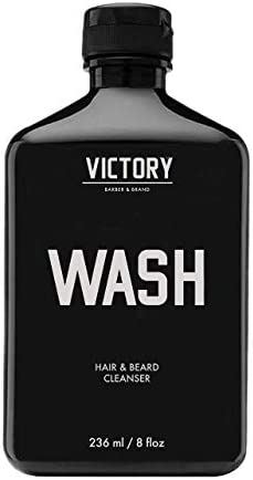 Hair and Beard WASH by Victory Barber Brand Men s Shampoo Made in the USA Beard Shampoo and product image