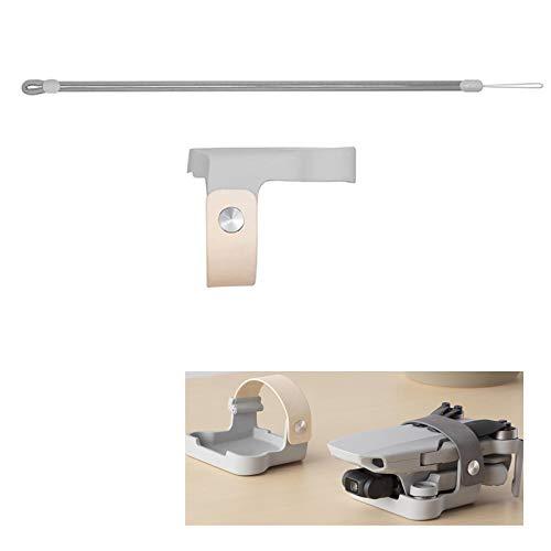 Flycoo2 Propellerhalter für DJI Mavic Mini Drone Requisiten Befestigung Fixierschutz + Gurt Festbandzubehör (beige)
