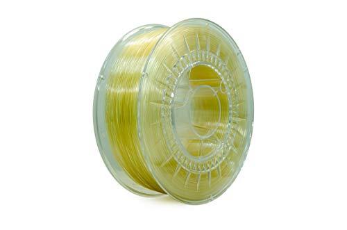 Eolas Prints | Filamento Flessibile 3D 100% TPU | Stampante 3D | Made in Europa, Adatto per uso alimentare e creazione giocattoli | 1,75mm | 1Kg | Naturale