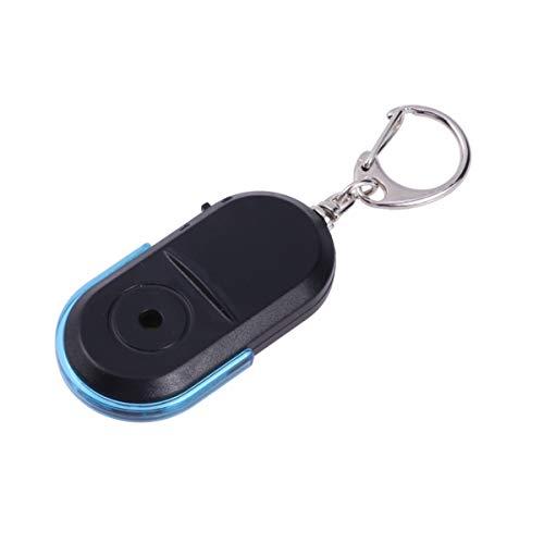 VALICLUD Localizador de Buscador de Llaves con Led Silbato Aplauso Linterna Pitido Llavero Remoto Dispositivo Anti-Pérdida para Billetera de Equipaje Clave