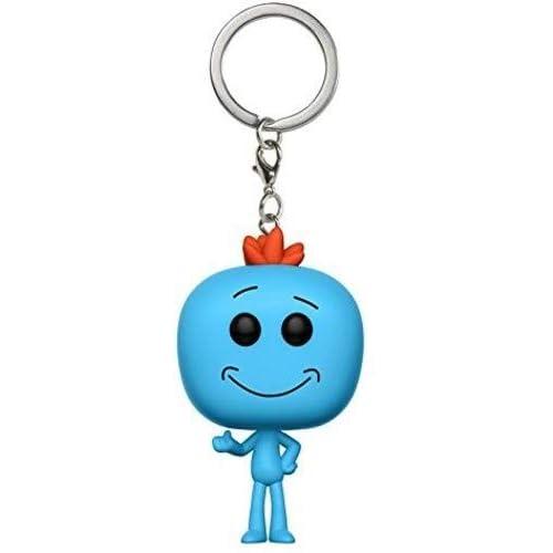 Amazon.com: Funko Pop Keychain Rick and Morty Meeseeks ...