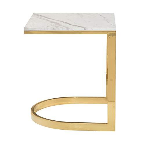 Tables basses Tables Salon en Acier Inoxydable Coin De Mode Petite Table Table Créative Table D'appoint Canapé Moderne Simple Table De Téléphone Table De Boisson Talk Zhuo Table