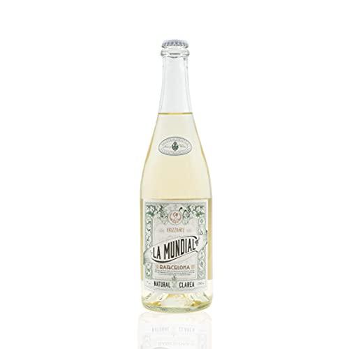 Vins&Co Barcelona La Mundial Clarea Natural - D.O. Penedés - Vino Blanco Frizzante espumoso - Macabeo y Parellada - 7% alcohol – Selección Vins&Co - 750ml