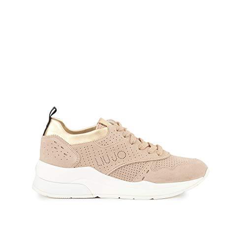 Liu Jo B19009 PX025 Sneakers Donna Beige 37
