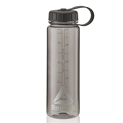 Reebok Wide Mouth Water Bottle-500ml-Black Trinkflasche, Black, 500ml