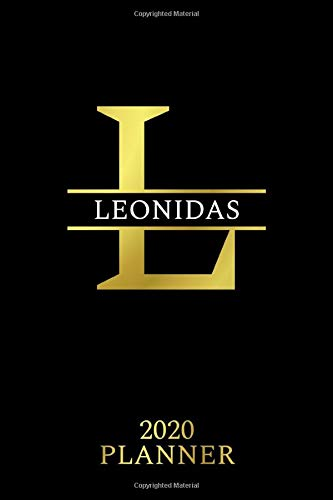 Leonidas: 2020 Planner - Personalised Name Organizer - Plan Days, Set Goals & Get Stuff Done (6x9, 175 Pages) (Best Planners For Gift, Band 169)