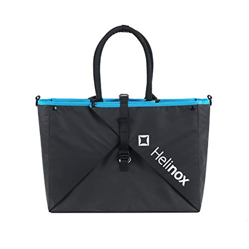 Helinox Origami Tote | Eine vielseitige Tragetasche Stühle und Tische, kann Sich in eine Picknickdecke verwandeln (Black)