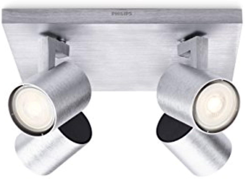 Philips myLiving LED Spot Runner, 3.5W, inkl. Leuchtmittel, 4-flammig, aluminium