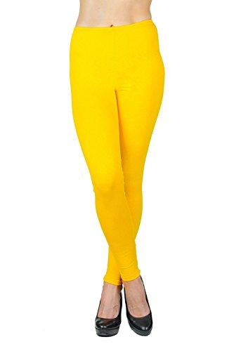 Jandaz - Leggings - Donna giallo small