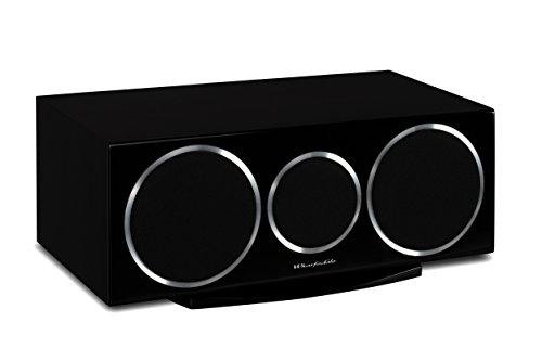 Wharfedale Diamond 220C - Altavoces (Mesa/estante, Speaker set unit, Centro, De 2 vías, 60 - 20000 Hz, Negro)