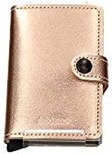 Secrid Miniwallet Metallic Rose Leather Wallet SC5519