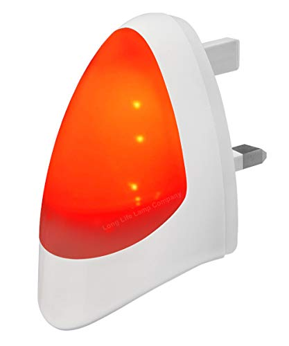 RED Automatic LED Night Light Dusk 2 Dawn
