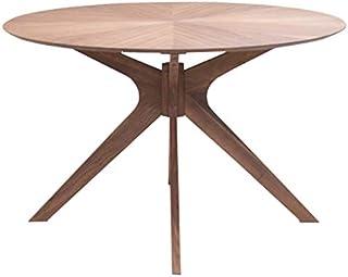 幅120cm 高さ72cm 丸テーブル sbkt120-351wn 北欧 光線張り テーブル ウォールナット 4人用 ブラウン 円形 丸型 円型 円卓 木製 おしゃれ モダン テーブル 机 カフェ ウッドダイニング 食卓 リビング アウトレット 7s-1k-266