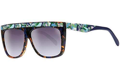 sunglasses brands Sunglasses Emilio Pucci EP 8 EP0008 56W havana/other / gradient blue