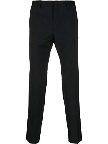 Luxury Fashion | Dolce E Gabbana Uomo GY6IETFUCD6N0000 Nero Poliestere Pantaloni | Stagione Outlet