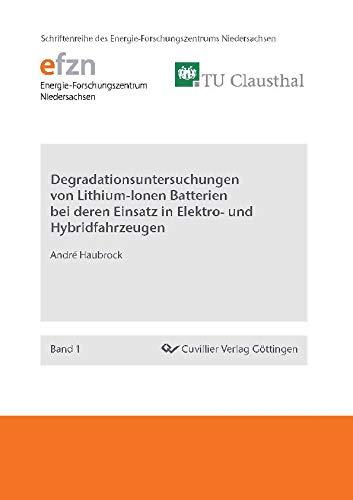 Degradationsuntersuchungen von Lithium-Ionen Batterien bei deren Einsatz in Elektro- und Hybridfahrzeugen (Schriftenreihe des Energie-Forschungszentrums Niedersachsen (EFZN))