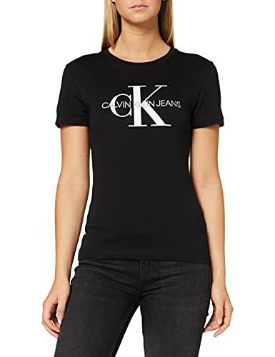 Calvin Klein J20J207878 Camiseta, 099, M para Mujer