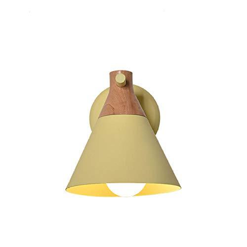 Moderne Minimalistische Slaapkamer lamp Creatieve Achtergrond Wandlamp Kamer Woonkamer Aisle Nachtkastje Wandlamp Wandlamp Geel_Warm Wit LED