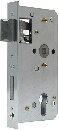 CZAIKA Einsteckschloss Schlosseinsatz Kasten 30mm Dorn 60mm Stulp 24 x 166