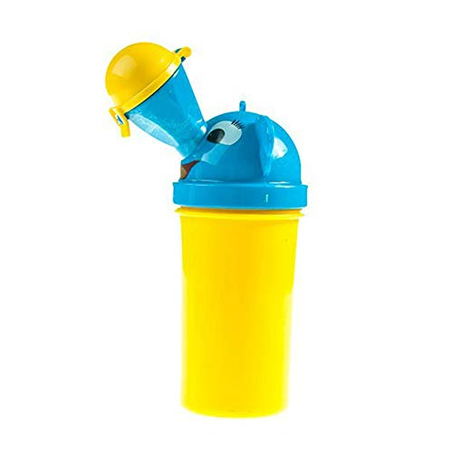 portatile Baby bambino vasino orinatoio ragazzo bambino vasino Training per campeggio auto viaggio ragazza viaggio Vasino orinatoio Allenamento WC (giallo per ragazzi) HomePro Duct