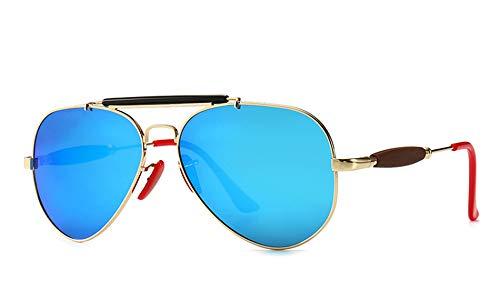 JFSKD mannen gepolariseerde Punk stijl zonnebril Trend grote frame Aviator zonnebril