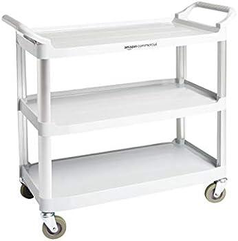 AmazonCommercial 3 Shelves Utility Cart